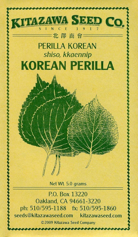 Honeyman Farms 2075 Perilla Korean Seed Packet