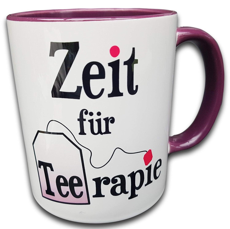 Sch/öne Teetasse mit Spruch Therapie Tasse Weihnachtsgeschenk Therapeutin Therapieende Geschenk Therapeutin Geschenk