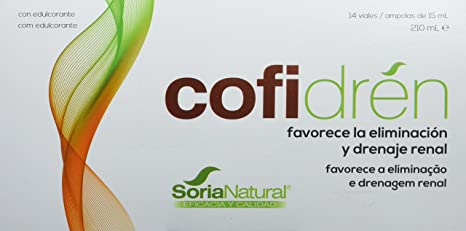 Soria Natural Cofidren Doble Acción con Cafe Verde - 14 ...