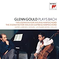 Glenn Gould Plays Bach: The 6 Sonatas For Violin & Harpsichord Bwv 1014-1019; The 3 Sonatas For Viola Da Gamba & Harpsichord Bwv 1027-1029