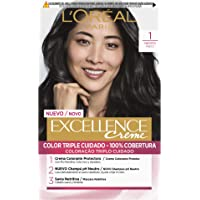 L'Oréal Paris Excellence Coloración Crème Triple Protección 1 Negro