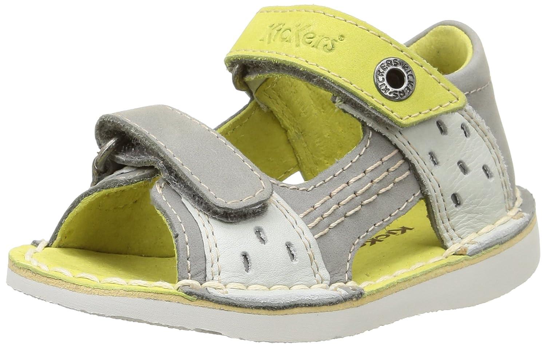 Kickers Wasabi bis - Zapatos de Primeros Pasos Bebé -Niñ as 355033-10-103 B0191JX5R0Bleu (Marine/Camel)21