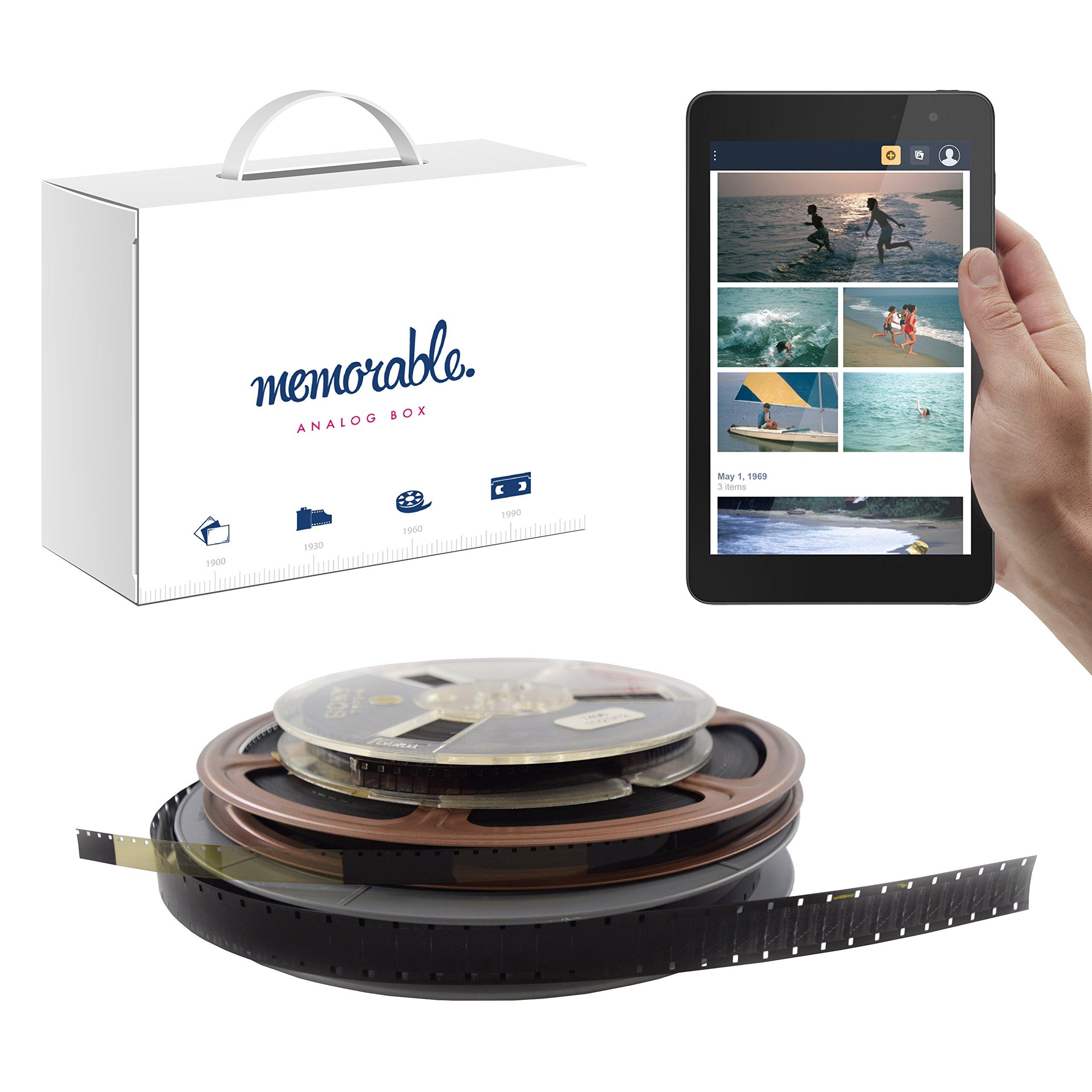 Memorable Film Transfer Service (8mm, Super 8, 16mm) to Prime Photos - 4 Reels
