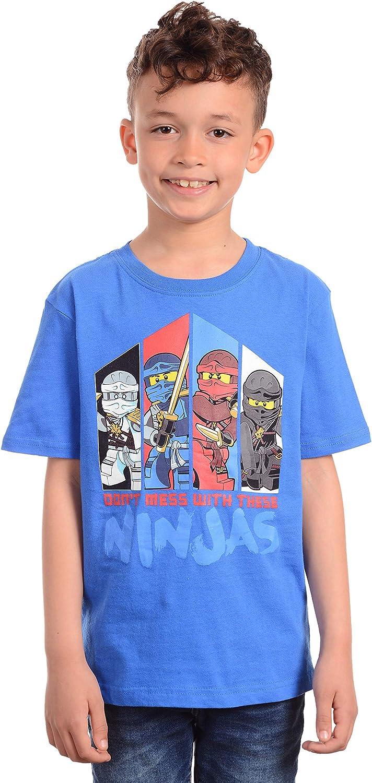 LEGO Boys Ninjago Don/'t Mess with The Ninjas T-Shirt