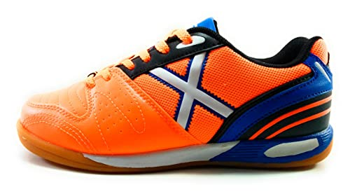 Munich One Kid Zapatilla Futbol Sala Niño Naranja: Amazon.es: Zapatos y complementos