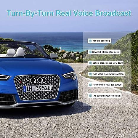 Amazon com: Car GPS, Aonerex 7 inch Touchscreen GPS