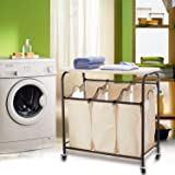 Ollieroo Classic Rolling Laundry Sorter Cart