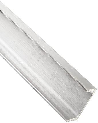 """American Standard 6061 T6 Aluminum Channel 6/"""" x 1.92/"""" x 0.20/"""" x 4.5/"""" Lot of 2"""
