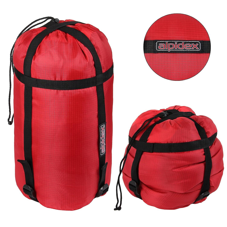 ALPIDEX Mochila de Compresión JACKSAC para Sacos de Dormir o Prendas de Vestir: Amazon.es: Deportes y aire libre