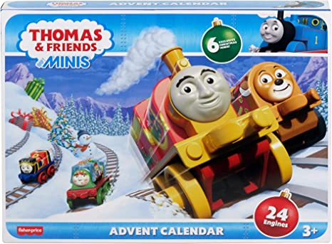 Thomas /& Friends MINIS Advent Calendar with 24 MINIS engines