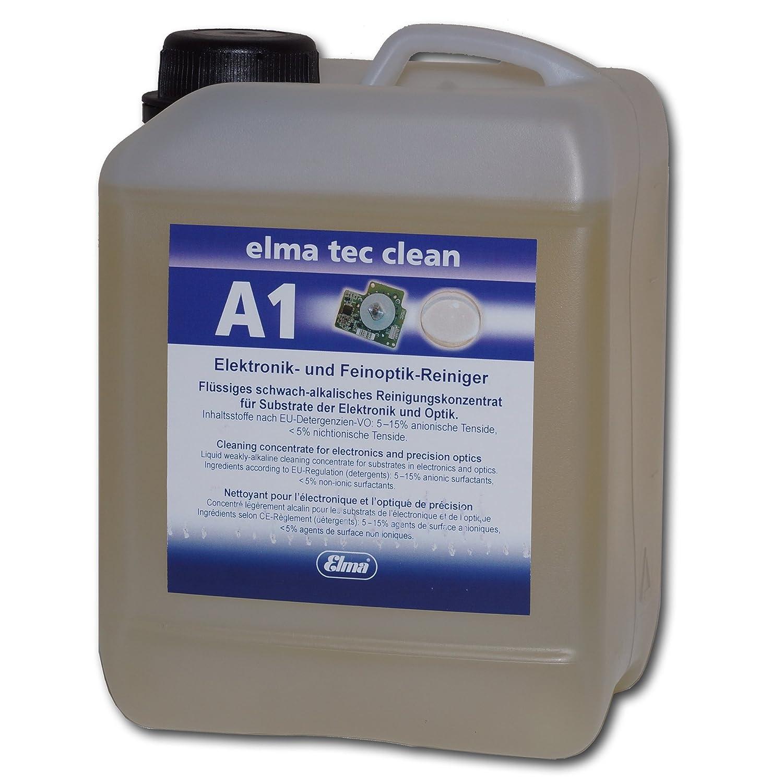 Amazon.com: Elma – Tec limpiar A1 limpiador ultrasónico ...