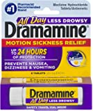 Dramamine Motion Sickness Relief Tablets (8 Tablets (Pack of 1))