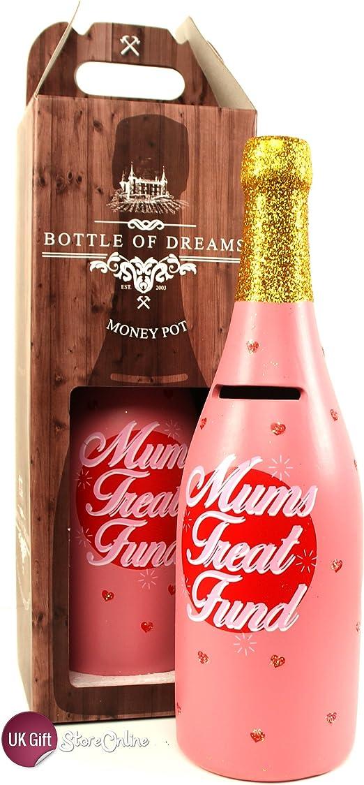 Regalo para madre - Hucha solución Treat - botella de hucha sueños: Amazon.es: Hogar