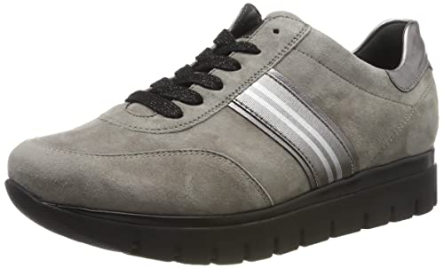 Semler Nelly, Damen Sneakers,Grau (perle chrom silber),39.5