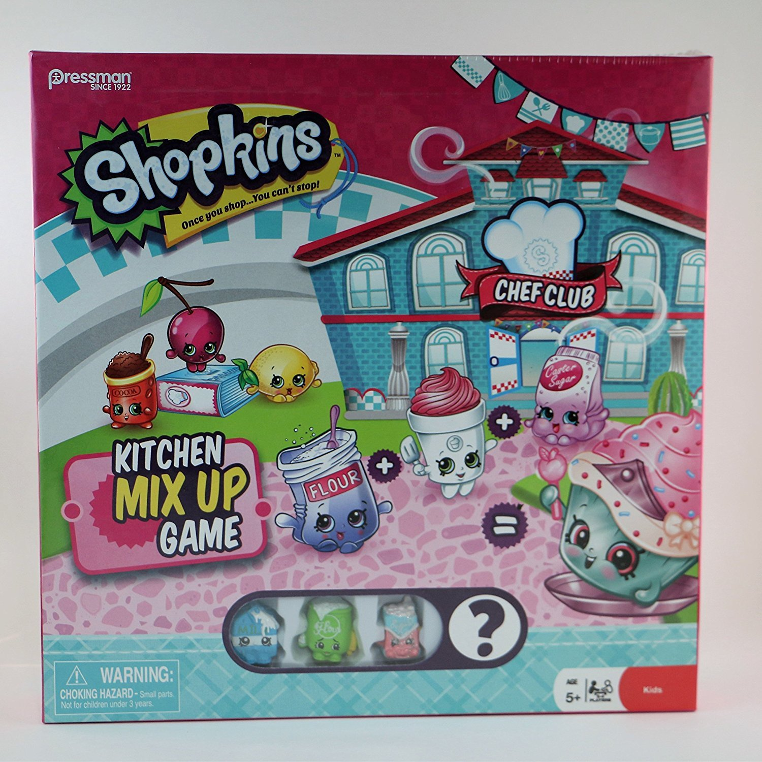 Amazon.com: Shopkins Kitchens Mix Up Game: Toys & Games
