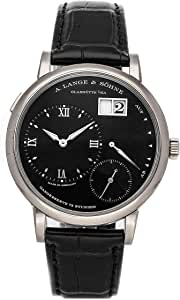 A. Lange & Sohne Lange 1 Mechanical (Hand-Winding) Black Dial Mens Watch 117.028 (Certified Pre-Owned)