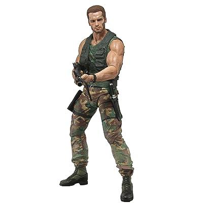 "NECA Predator - 7\"" Scale Action Figure - 30th Anniversary Jungle Patrol Dutch: Toys & Games [5Bkhe0304864]"
