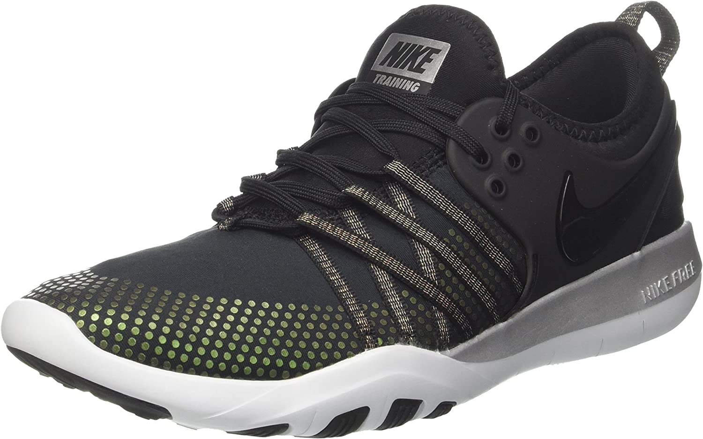 Nike Women's WMNS Free TR 7 MTLC, Black