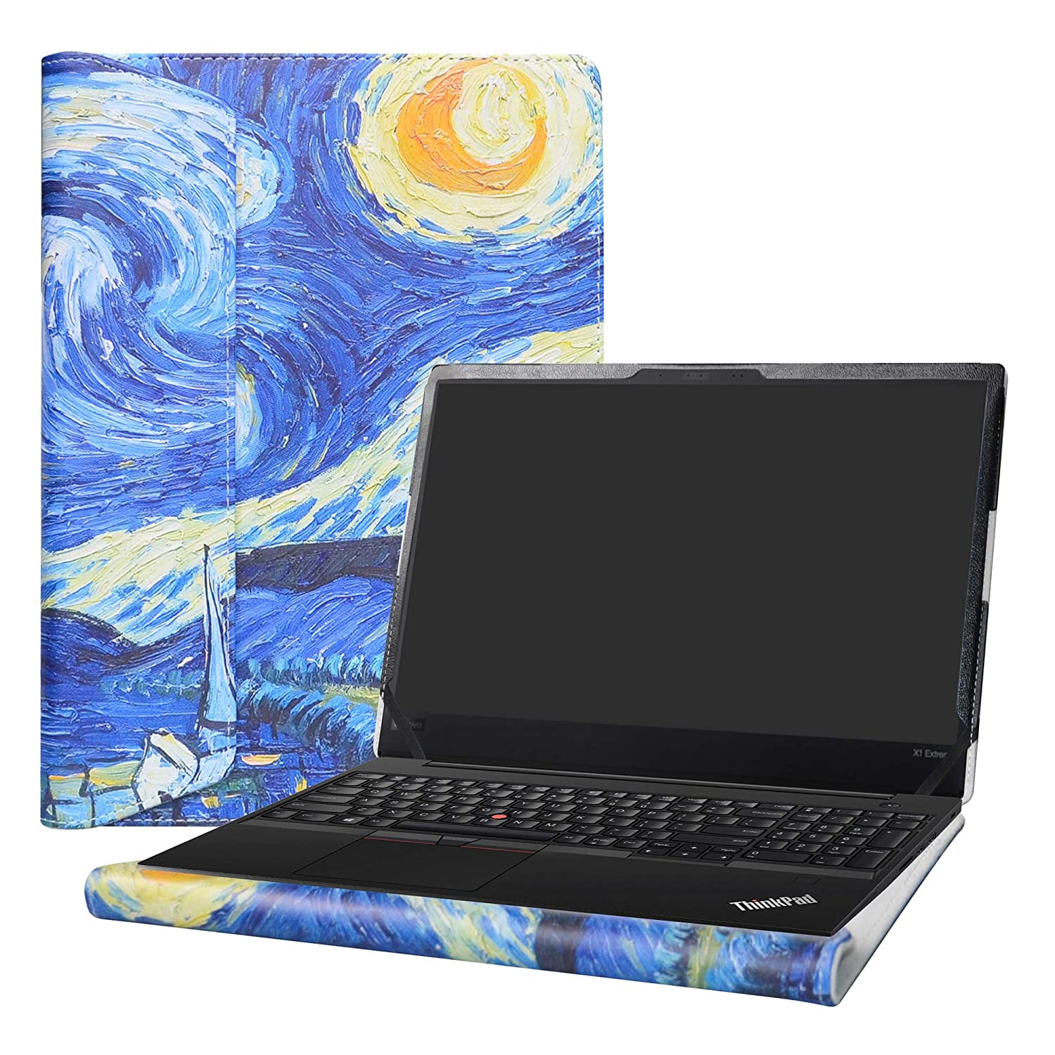 "Alapmk Protective Case Cover for 15.6"" Lenovo THINKPAD X1 Extreme/Lenovo THINKPAD P1 Series Laptop[Warning:Not fit Lenovo THINKPAD X1 Carbon/X1 Yoga],Starry Night"