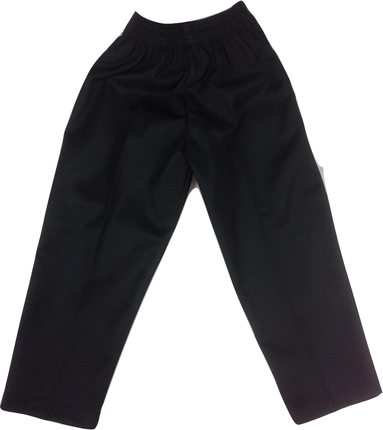 Boys GAB Trouser with Belt Superior Quality Half Elastic Waist Teflon School Formal Trousers Ages 4-14 years Schoolwear Kids Black Grey Charcoal Navy for comfort and ease Slip On