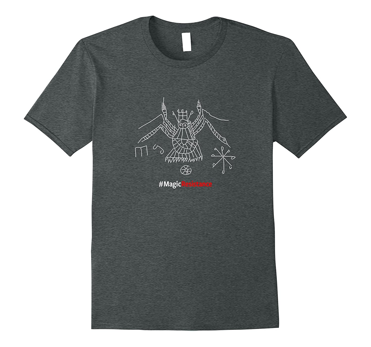 Hekate MagicResistance Official T-shirt-Vaci