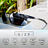 SIPLION Men's Driving Polarized Sport Sunglasses