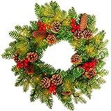 sailun pvc 40cm weihnachten kr nze weihnachtsdeko t rkranz kranz dekokranz weihnachten garland. Black Bedroom Furniture Sets. Home Design Ideas