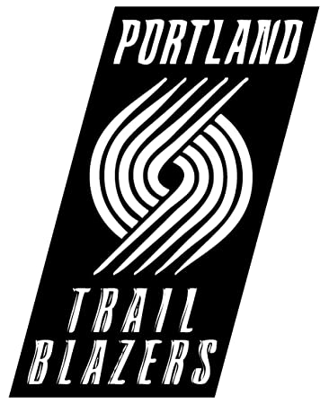 Amazoncom Portland Trail Blazers Vinyl Decal Sticker For Car - Custom vinyl decals portland oregon