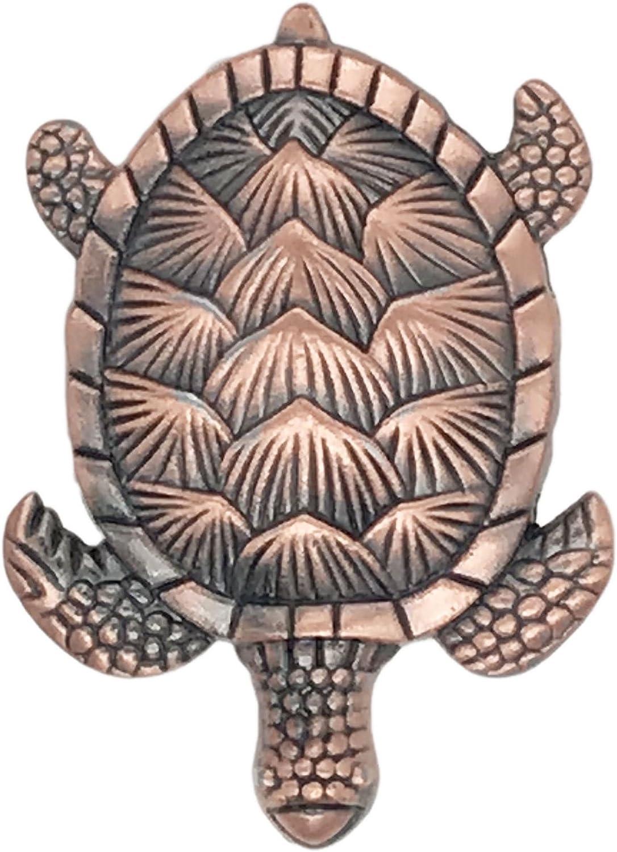Turtle Nautical Furniture Knob Drawer Pull Vintage Style Door Handle Metal Animal Handle