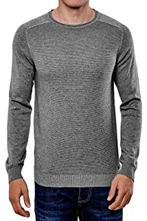 18436fa977dbb6 Threadbare Talbot Mens Classic Cable Crew Neckline Sweater Soft Warm ...
