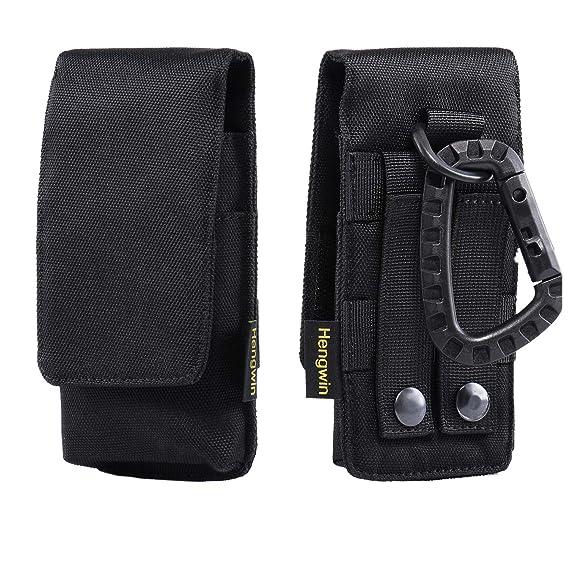 6c1282761 Hengwin Men Purse iPhone 6s 7 8 Plus Belt Clip Holster Pocuh Case Vertiacl  Smartphone Belt