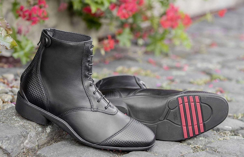 Noir  'USG  Premium élégant Soft Bottines Lacets
