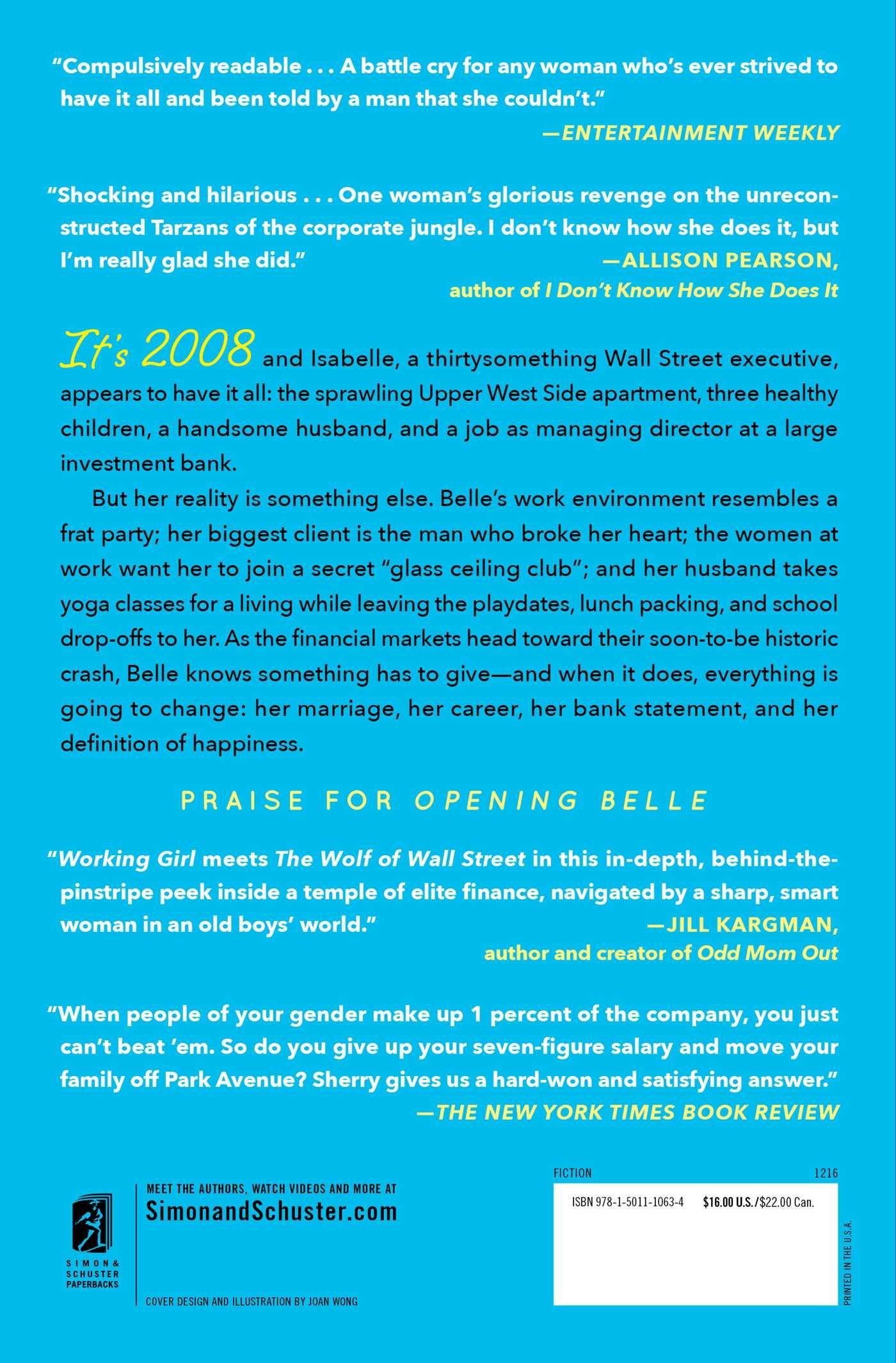 Opening Belle: A Novel: Maureen Sherry: 9781501110634: Amazon.com: Books
