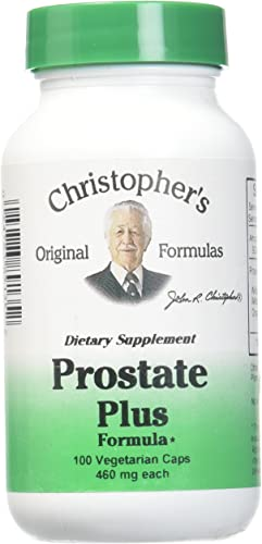 Christopher s Original Formulas Prostate Plus Formula, 100 Count
