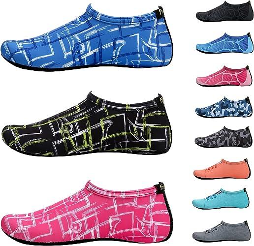 Amazon.com: libremente Piel Zapatos Aqua calcetines de agua ...