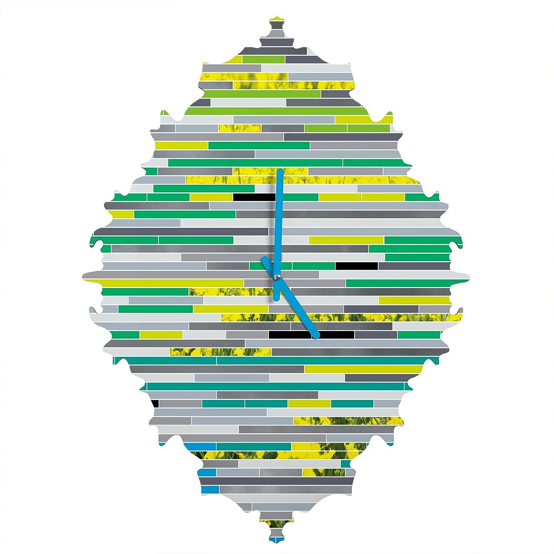 In Due Time Deny Designs Gabi Small 15995-clkbs2 Baroque Clock