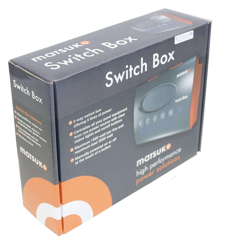 Matsuko 5 Way Pond Switch Box: Amazon.co.uk: Pet Supplies