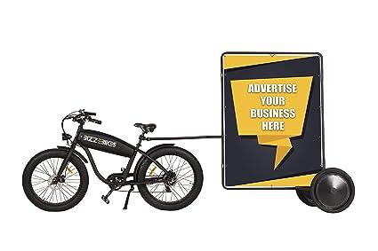 Amazon.com: Bicicleta de anuncios estándar – Remolque para ...