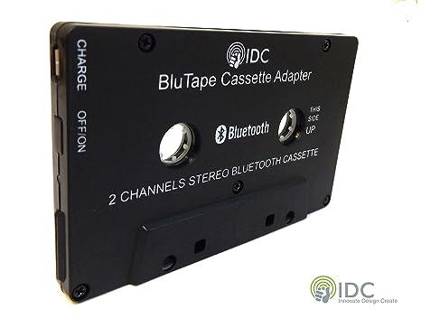 Bluetooth Receiver Car / Van Stereo Cassette Adapter - Turn a stereo cassette tape player Bluetooth
