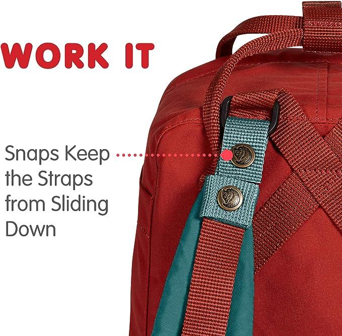 Details about  /Fjallraven Kanken Mini Shoulder Pads Comfortable Extra Padding Velco