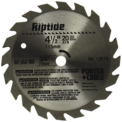 Porter cable 12870 riptide 4 12 inch 20 tooth atb thin kerf general porter cable 12870 riptide 4 12 inch 20 tooth atb thin keyboard keysfo Choice Image