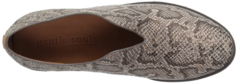 Gentle Souls by Kenneth Cole Hanna Platform Slip ON Fashion Sneaker- Leather Shoe B071FMW5Y1 9 B(M) US|Rose Gold