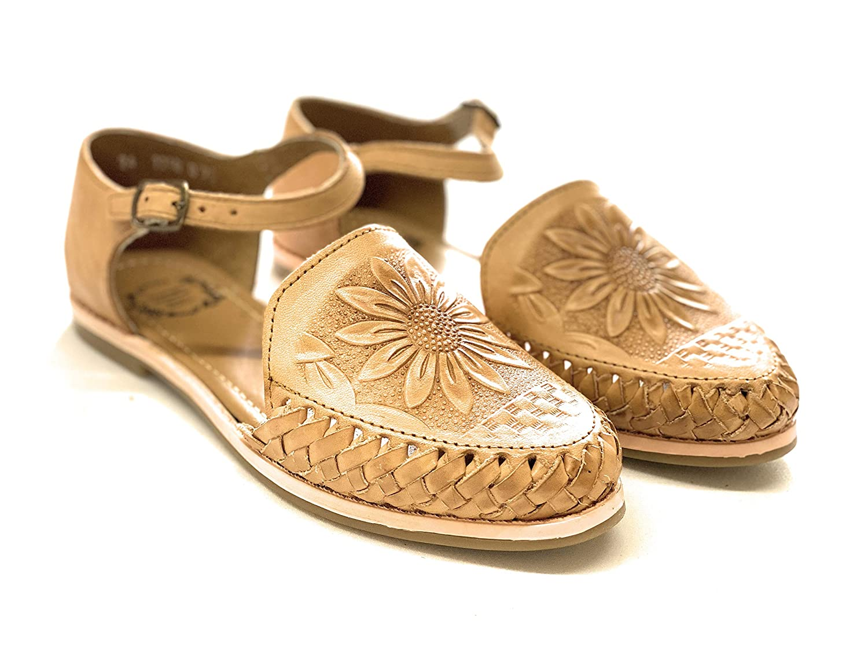 Huarache Mexican Sandals Sunflower
