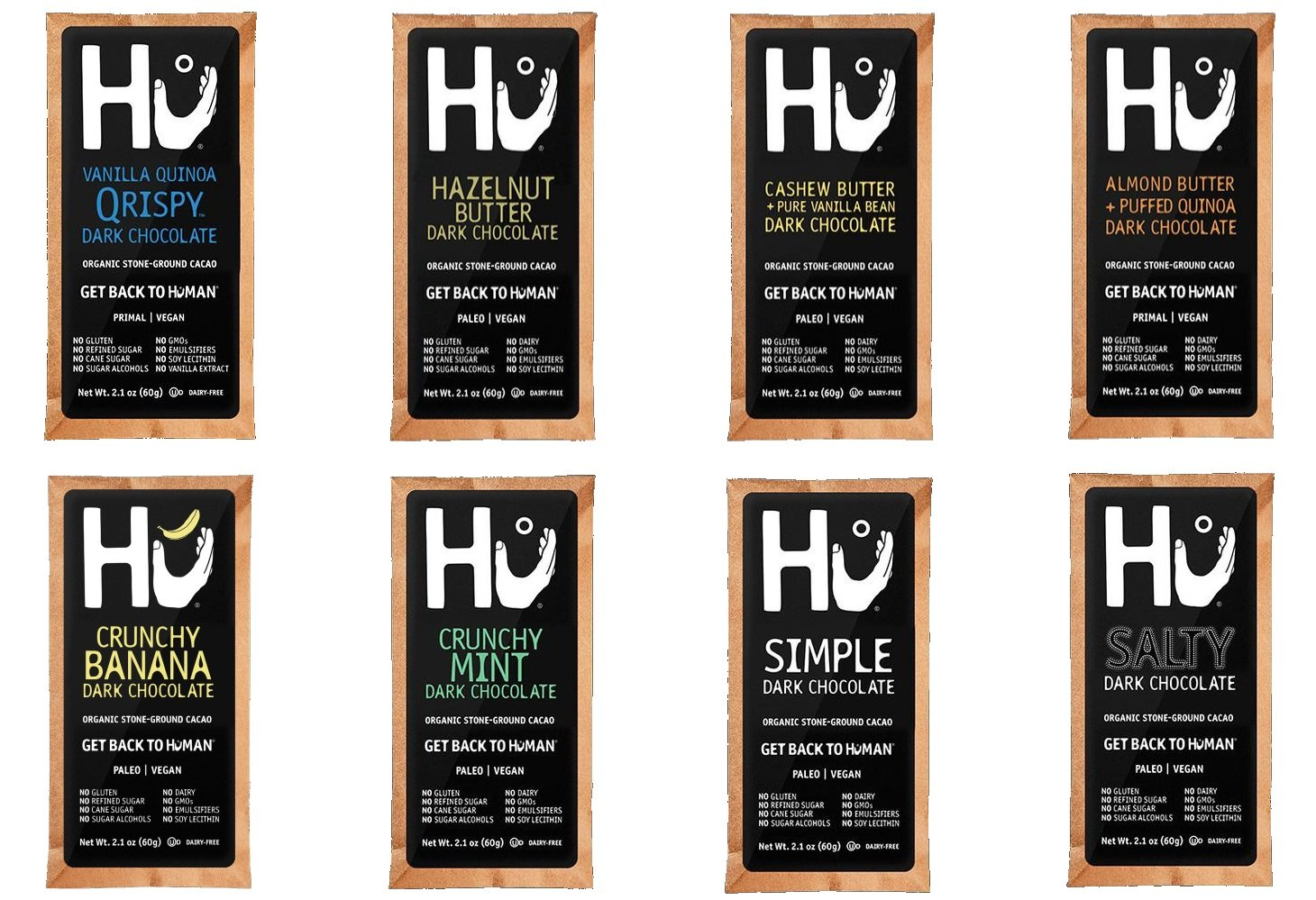 Amazon.com : Hu Kitchen - Paleo - Vegan - Chocolate Bars, Variety ...