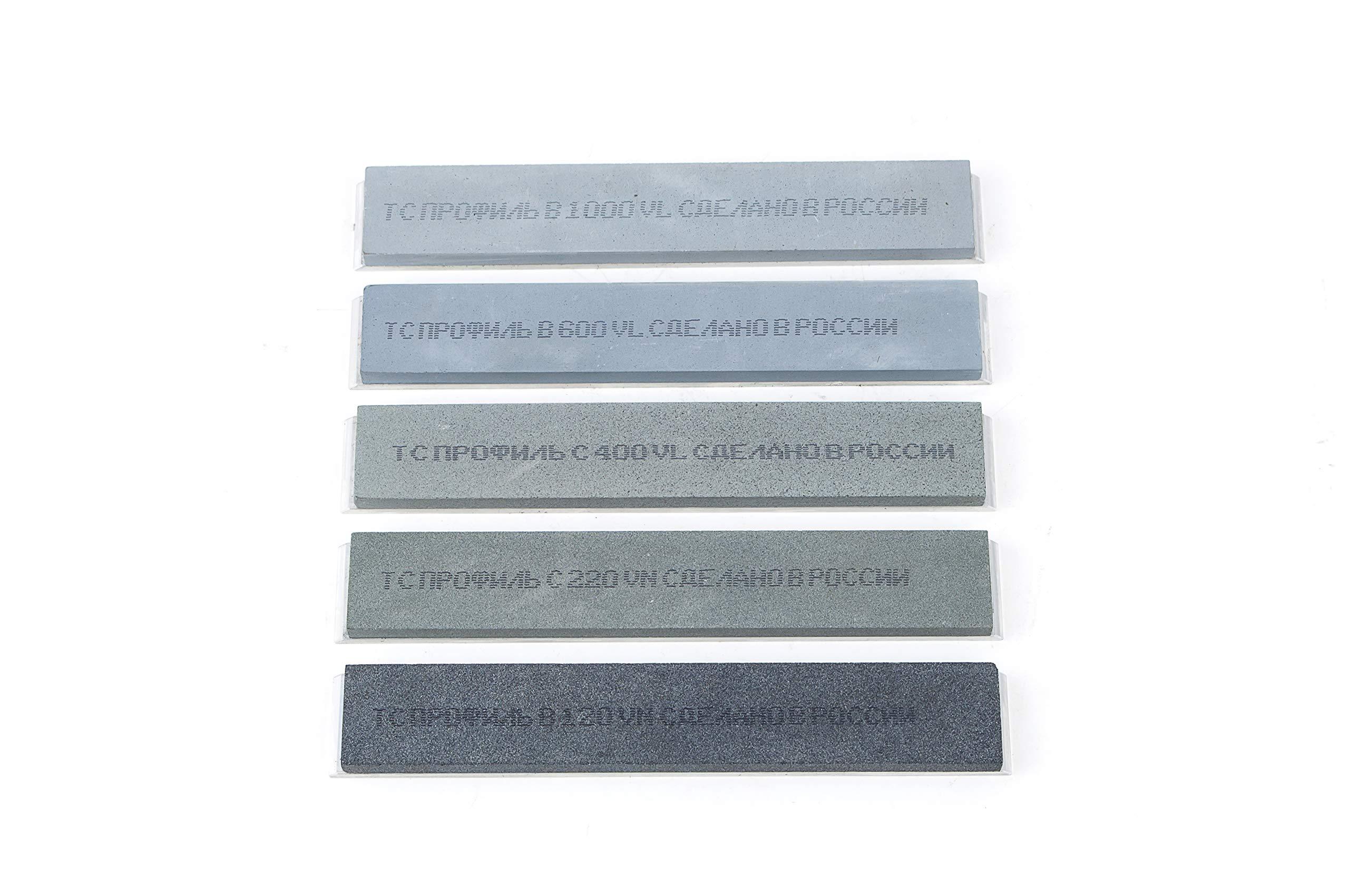 TSPROF Professional Knife Sharpener System, Knife Sharpening Kit, Gift Kit Black K03 (K02LU) by TSPROF (Image #3)