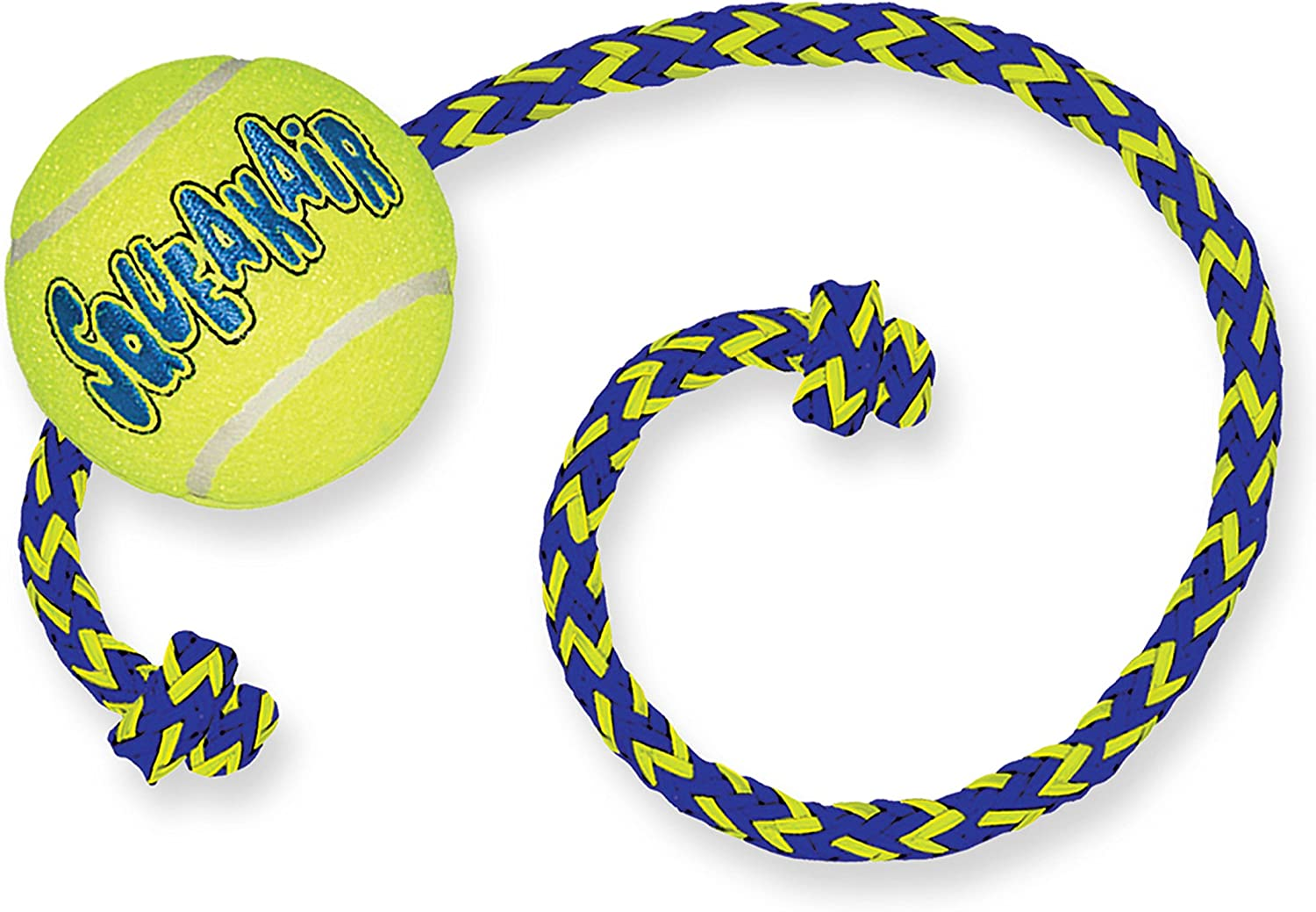 KONG - Squeakair Ball with Rope - Pelotas de Tenis sonoras Que ...