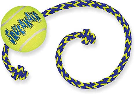 KONG - Squeakair Ball with Rope - Pelotas de Tenis sonoras Que ...