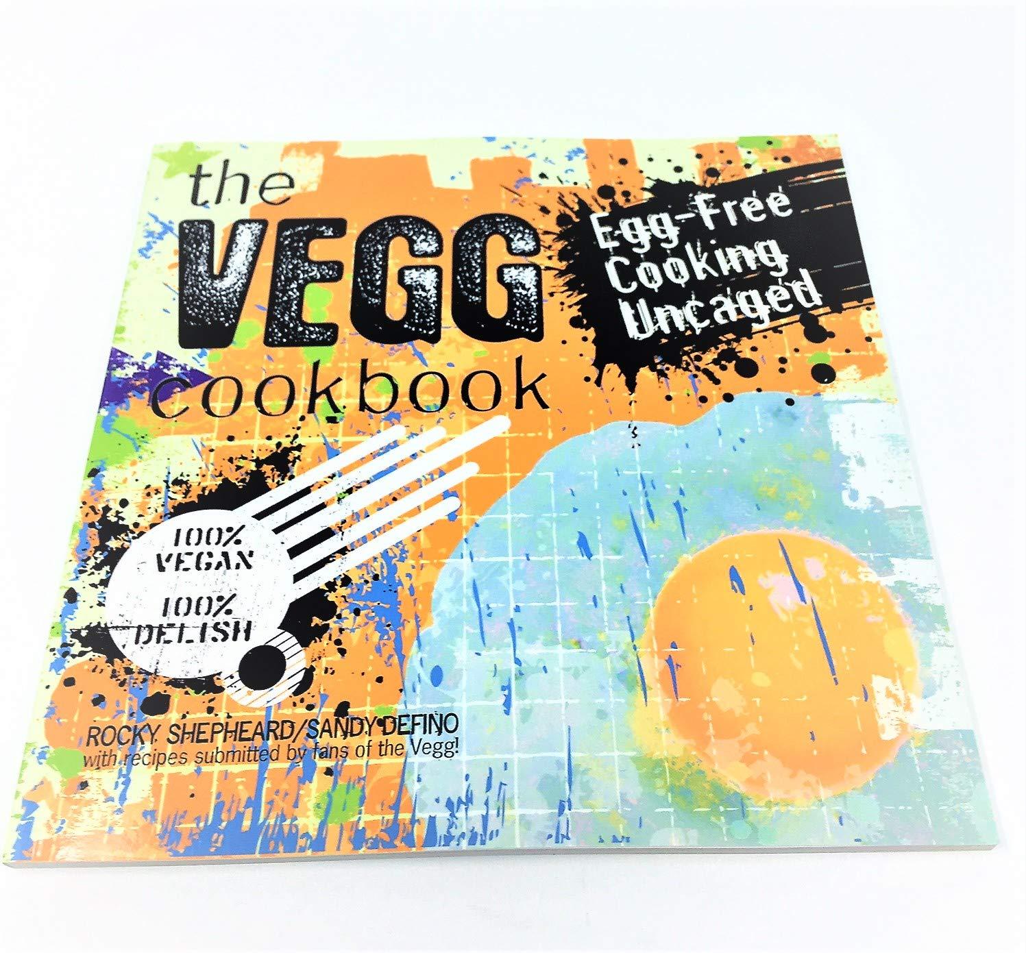 The Vegg Vegan Mega Pack Vegan Egg Yolk + Power Scramble + French Toast Mix + Uncaged Baking Mix + Egg Wisk + Measuring Cups and Spoons + The Vegg Cookbook by The Vegg (Image #2)