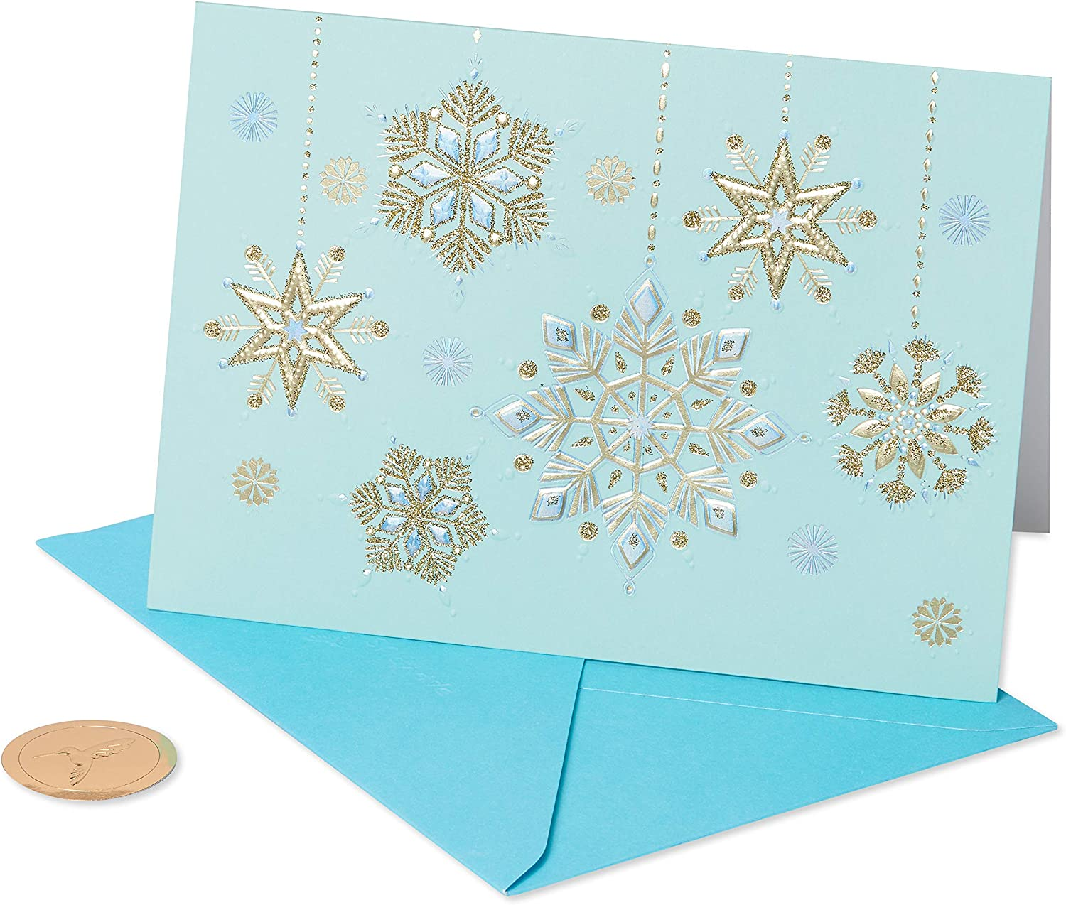 Snowflake Christmas Light Up Card Making Kit Pkg of 2