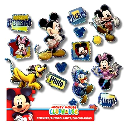 Mickey And Minnie Mouse Stickers.Disney Mickey Mouse Minnie Mouse Stickers